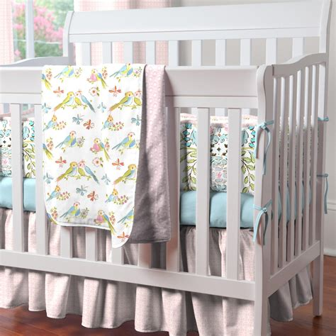 baby crib bedding sets design birds portable crib bedding carousel designs