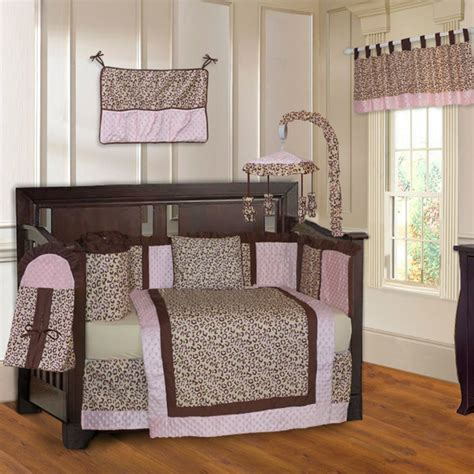 pink leopard crib bedding animal print crib bedding sets for
