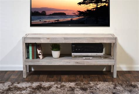 Earth Tone Bedroom Ideas reclaimed media stand presearth driftwood woodwaves
