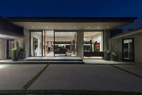 single story contemporary house design home interior