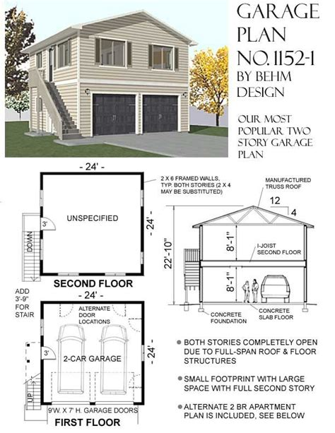 two story garage plans with apartments best 25 garage with apartment ideas on above