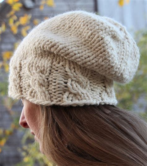 knit hat with brim pattern free cable hat knitting patterns in the loop knitting