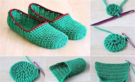 easy arts and crafts ideas for at home diy crochet slipper archives find projects to do