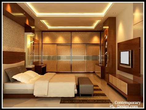 wall designs bedroom bedroom lcd wall designs