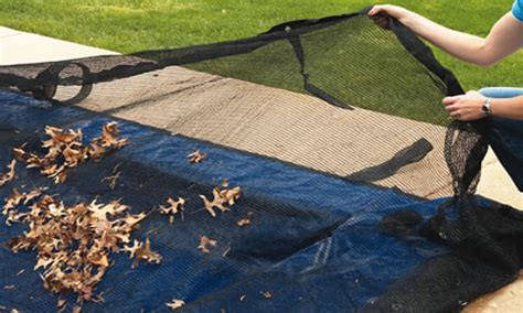 inground pool leaf cover swimming pool covers for winter swimming pool leaf net