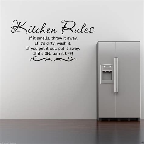 kitchen wall quote stickers kitchen wall sticker kitchen quote decal mural