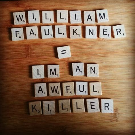is quid a scrabble word book sword william faulkner ezra pound and roberto