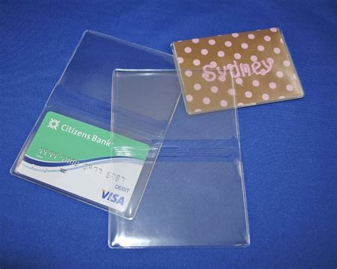 make your own card sleeves 25 best ideas about credit card holders on