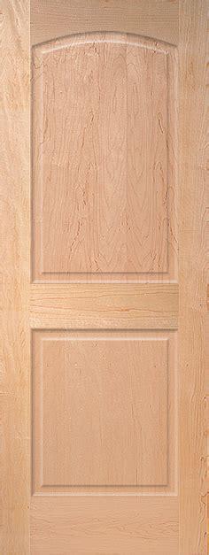 maple interior door maple arch 2 panel wood interior door homestead doors