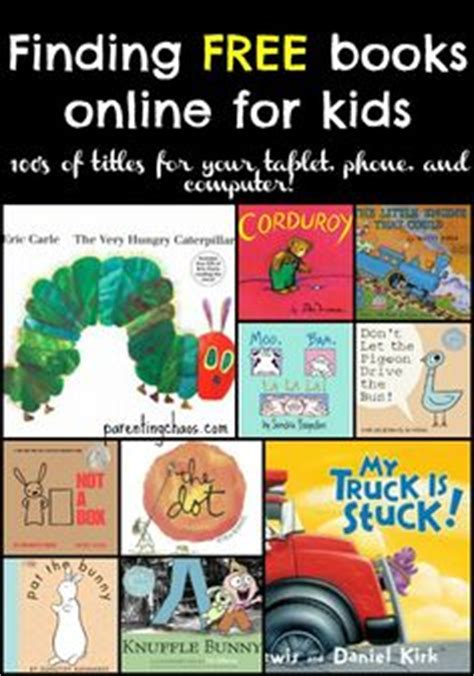 free children books with audio and pictures 1000 ideas about free books on free