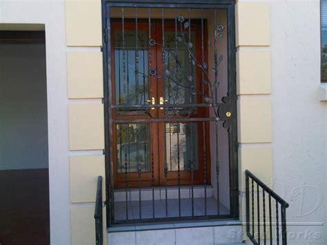 door security iron front door security gates