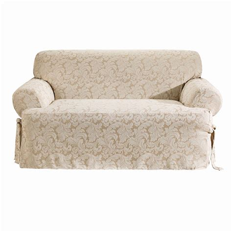 sure fit t cushion sofa slipcover sure fit t cushion sofa slipcover home design ideas and