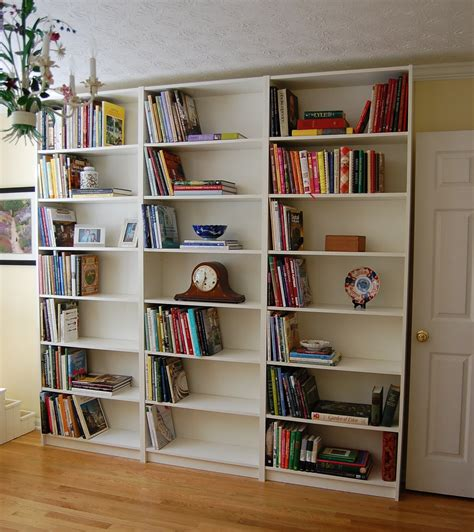 pictures of book shelves assembling a billy bookcase