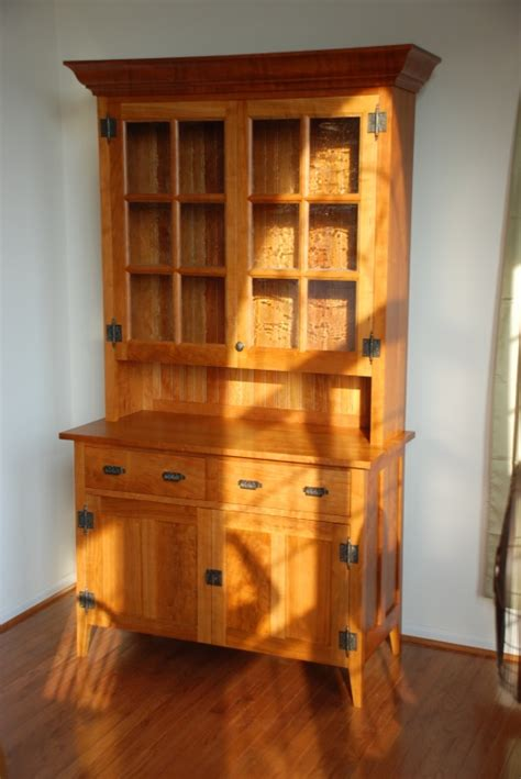 hutch woodworking plans cherry hutch from taunton s plans finewoodworking