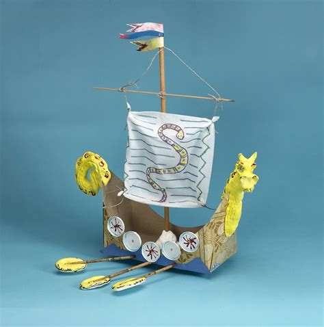 viking crafts for sail with the vikings craft crayola