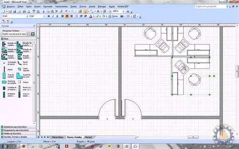 programa para fazer planta baixa ms visio aula 2 2 como criar uma planta baixa de layout