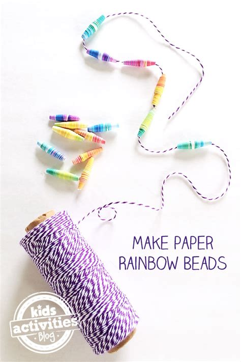 how to make paper jewelry make your own rainbow paper