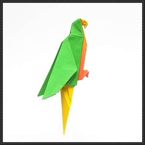 origami parrot papercraftsquare new paper craft how to fold an