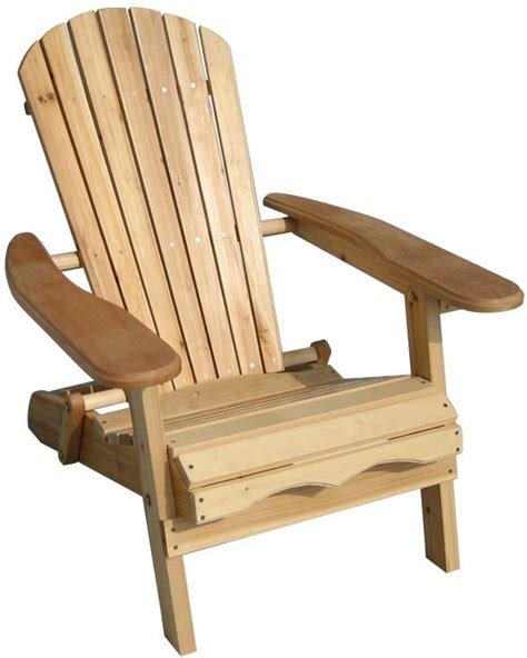 Unfinished Wood Adirondack Chairs merry products foldable adirondack chair fir wood