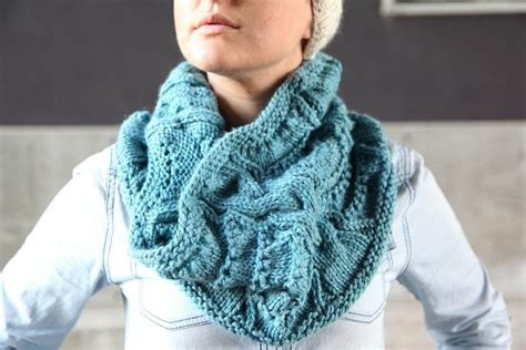 infinity scarf knitting pattern circular needles learn how to knit an infinity scarf