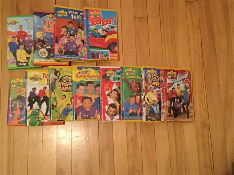 wiggles vhs collection 2016 edition