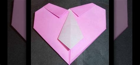 origami tie and shirt how to create an origami shirt and tie for s