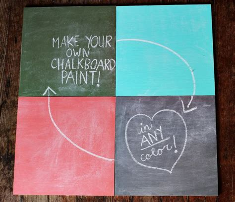 is painting chalkboard paint easy how to mix chalkboard paint in any color a beautiful mess