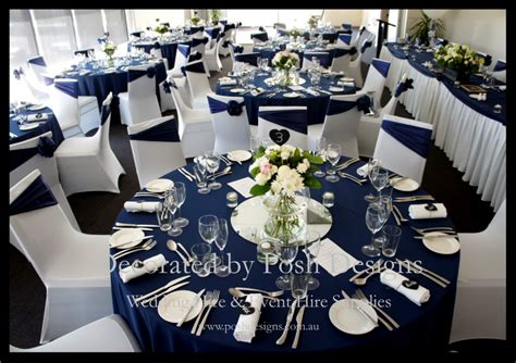 blue white decorations navy blue and silver wedding decorations wedding ideas