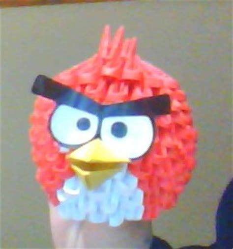 angry birds origami angry birds origami 3d modular by ncangussu on deviantart
