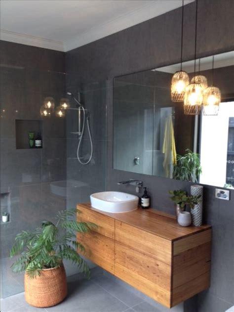grey tiled bathroom ideas the 25 best timber vanity ideas on