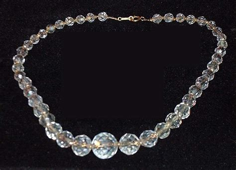 jewelry crystals what s this multifaceted necklace ruby