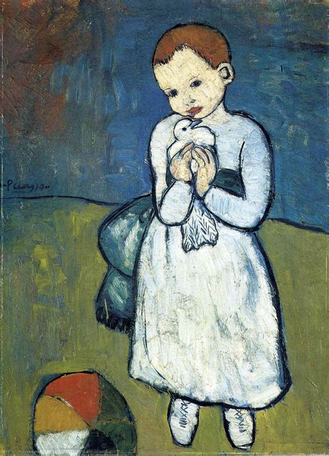 Why Was Picasso S Child With A Dove Allowed To Leave The