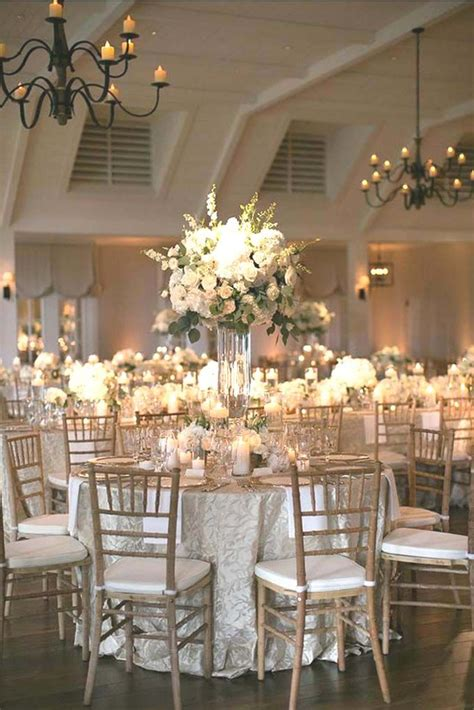 gold and white decorations best 25 white wedding decorations ideas on
