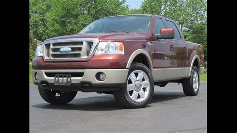 07 Ford F150 by 2007 Ford F150 King Ranch 4x4 Loaded 5 4l Triton Crew Cab