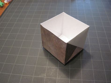 size of origami paper origami box from letter size paper