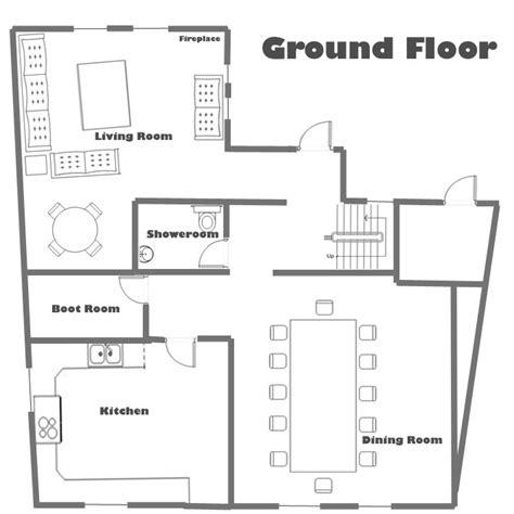 ground floor plans house chalet soltir ground floor plan total chalets