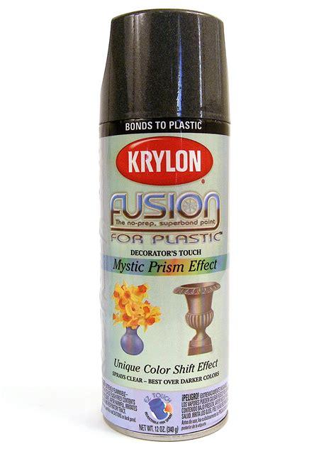 spray painting plastic krylon fusion spray paint for plastic misterart