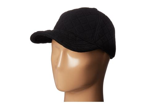 knit baseball cap by ralph quilted knit baseball cap zappos