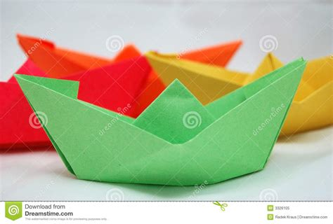 origami boat hat origami boats or hats royalty free stock photo image
