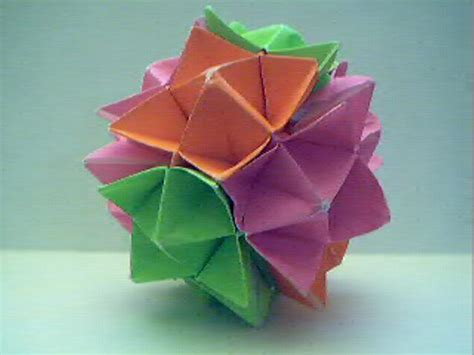 origami sphere pin origami sphere on