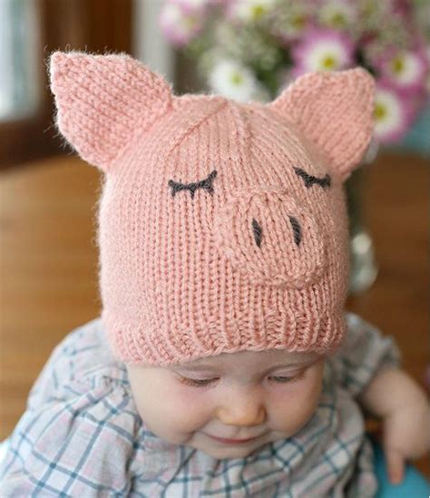 baby hats to knit this piggy went home baby hat allfreeknitting