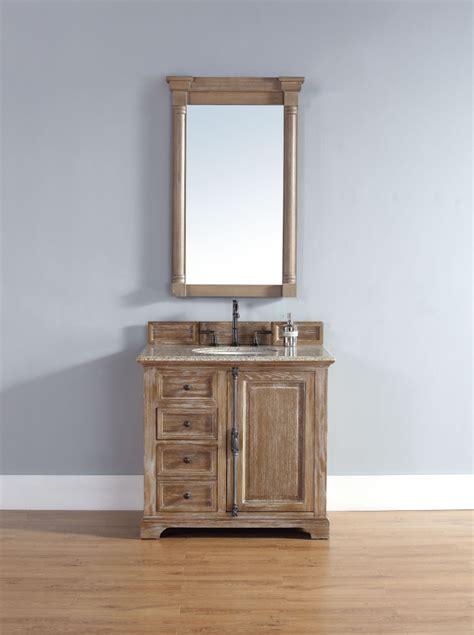 driftwood bathroom vanity 36 inch single sink bathroom vanity in driftwood finish