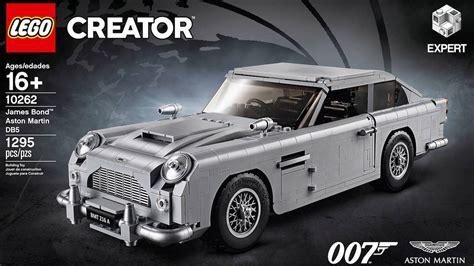007 Aston Martin Db5 by Officieel 007 Aston Martin Db5 Als Lego Creatie Autoblog Nl