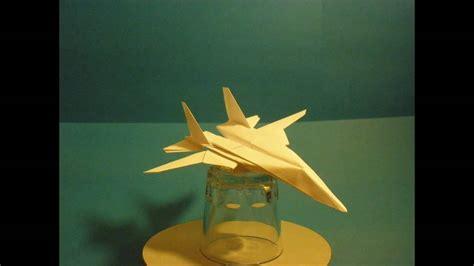 Flyable Origami F 14 Tomcat By Ken Hmoob