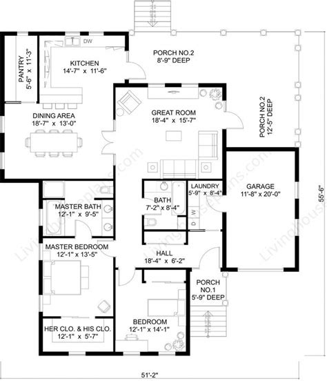 new home floor plans free plans for building a home container house design