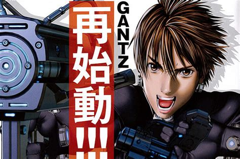 gantz complete new gantz announced 3dcg anime in 2016
