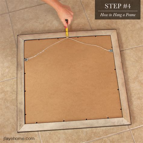 how to hang frames picture frames how to hang a picture frame with wire how