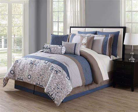 reversible comforter set in teal 10 teal gray ivory reversible comforter set ebay