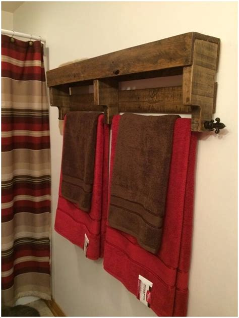 bathroom towels design ideas 15 cool diy towel holder ideas for your bathroom