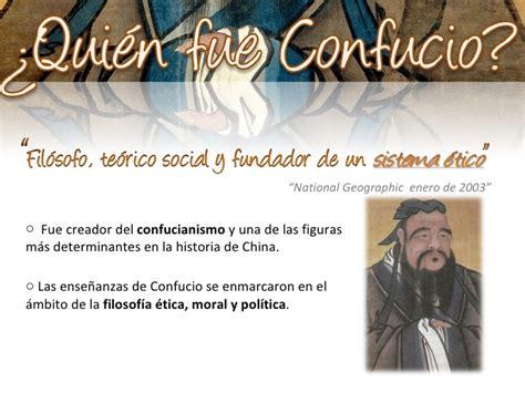 quien era confucio confucio